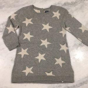 EUC • BabyGap Star ⭐️ Sweater Dress • 12-18months